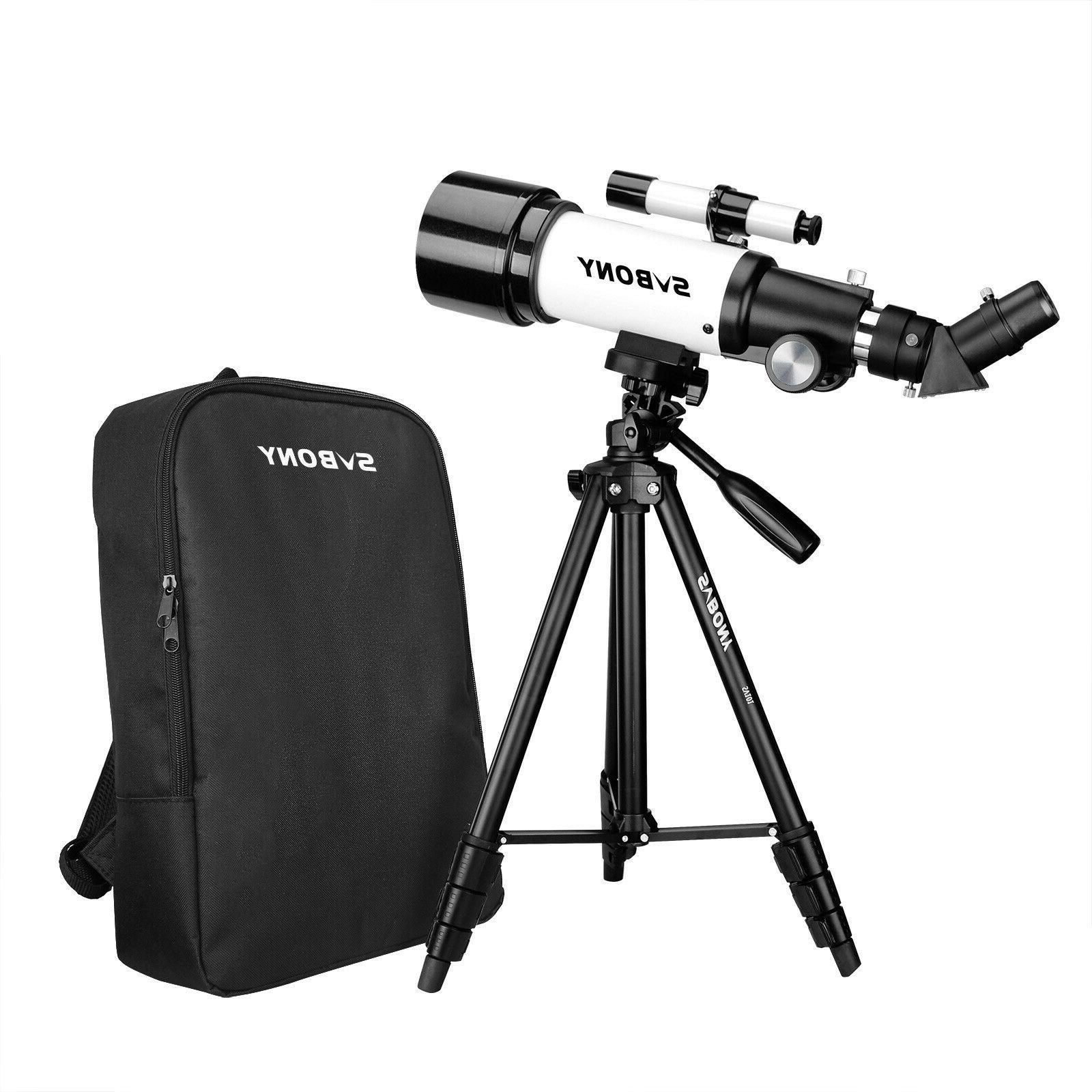 SVBONY SV501P Beginner 70400 Astronomical Telescope Tripod S