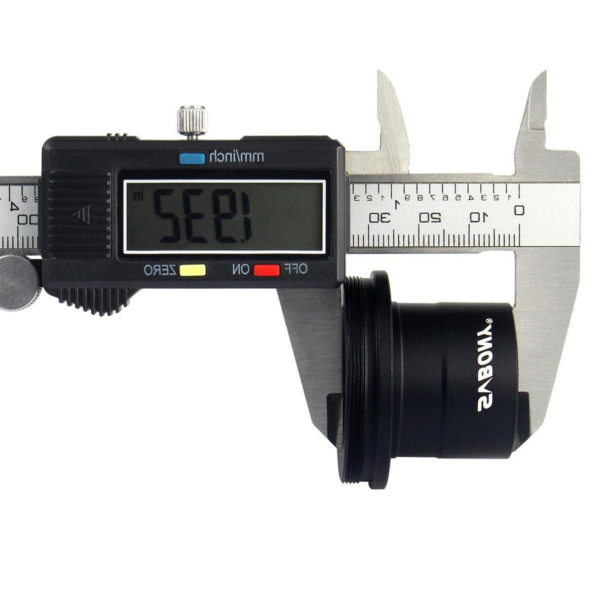 SVBONY T2 Ring Nikon Cameras Adapter + Telescope Adapter