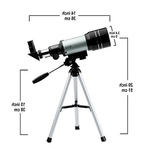 DQQ Sky Astronomy Beginners with Tripod Black