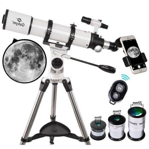 telescope 600x90mm astronomical refractor telescope az90600
