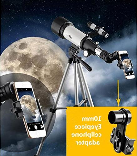 Telescope Beginners Travel Apeture 400mm AZ - with Carry - Travel Telescope View and Planet