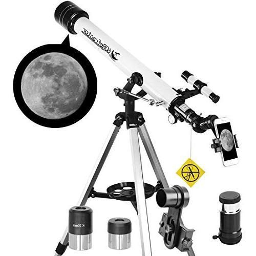 telescope apeture az