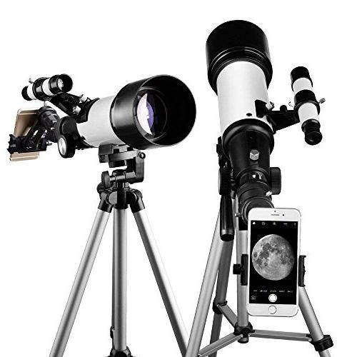 Telescope 70mm Scope - Partner View - Good Travel with Backpack for and