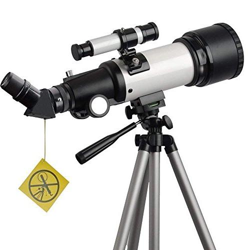 Telescope Apeture Scope 400mm AZ Mount - to View Moon and - Travel with Backpack Kids and
