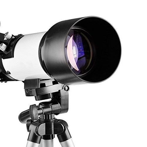 Telescope 70mm Apeture Travel Scope 400mm AZ Mount View and - Travel Telescope with Backpack for Kids and