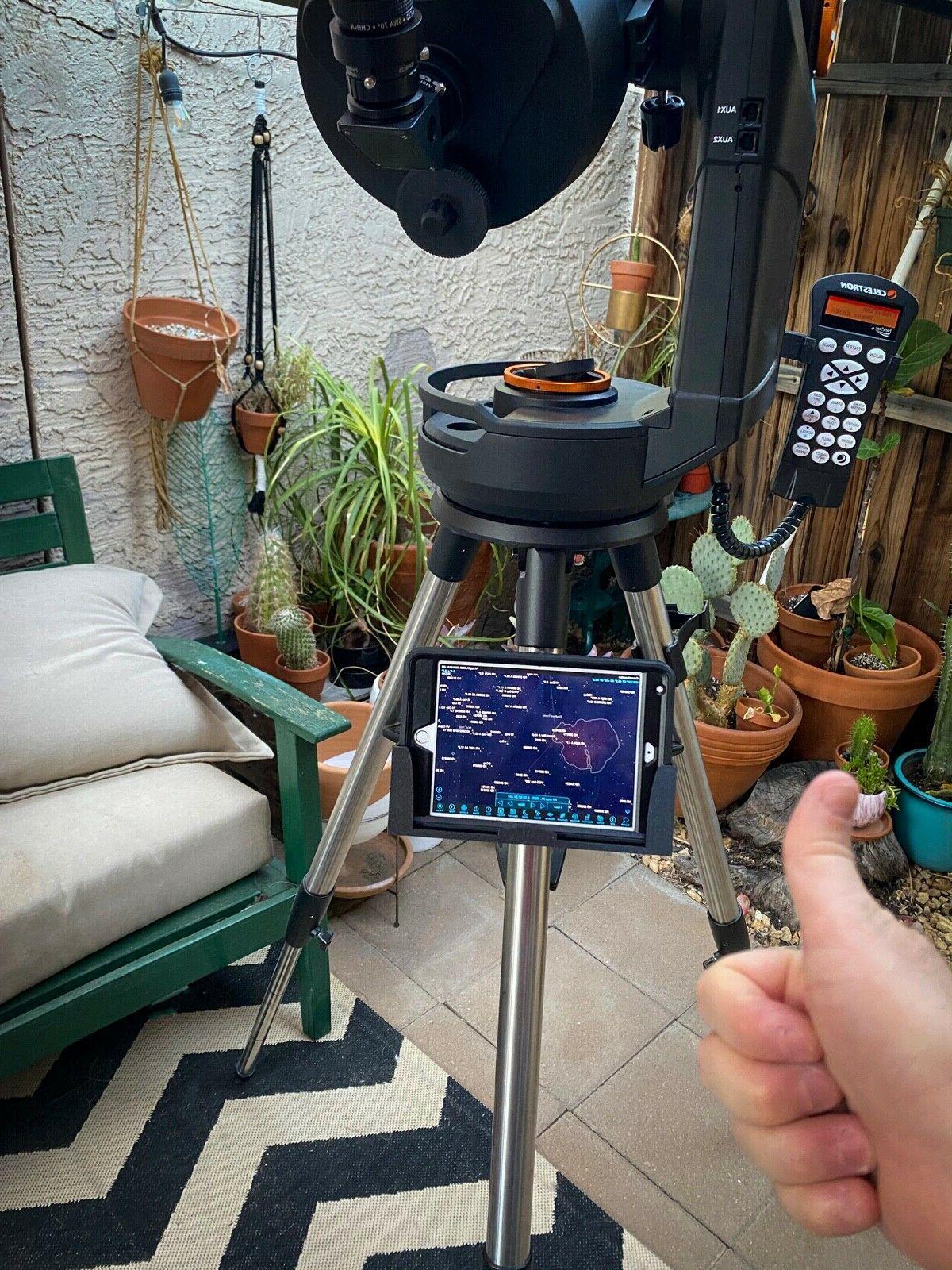 "Telescope iPad Mount. For 8se, 6se, 5se, 8"", 6"""