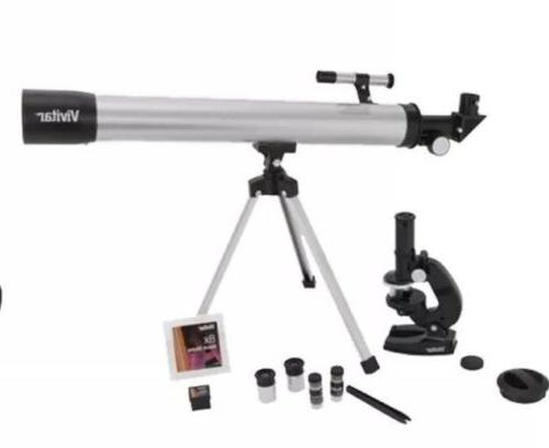 telescope microscope combo kit science lab start