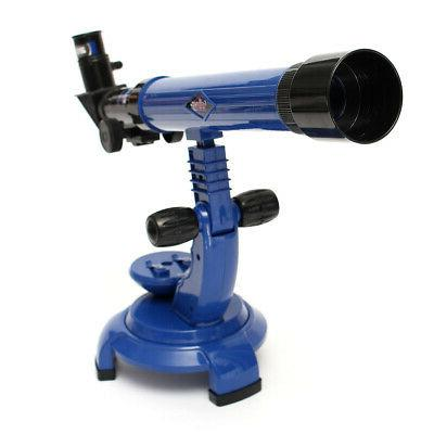 Telescope Microscope Set Science Nature Kids