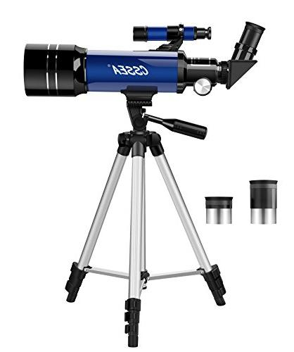 CSSEA Kids Beginners, Travel Scope Tripod & Eyepieces-Perfect Children Educational and Gift