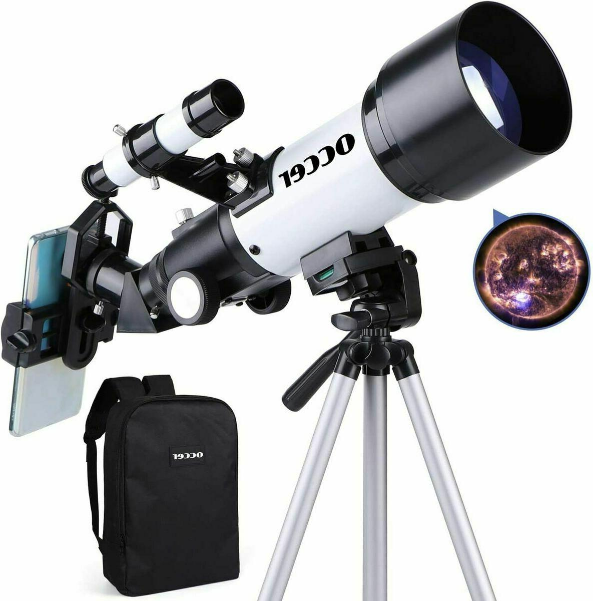 Occer Telescopes for Adults Kids Astronomy Beginners - 70mm