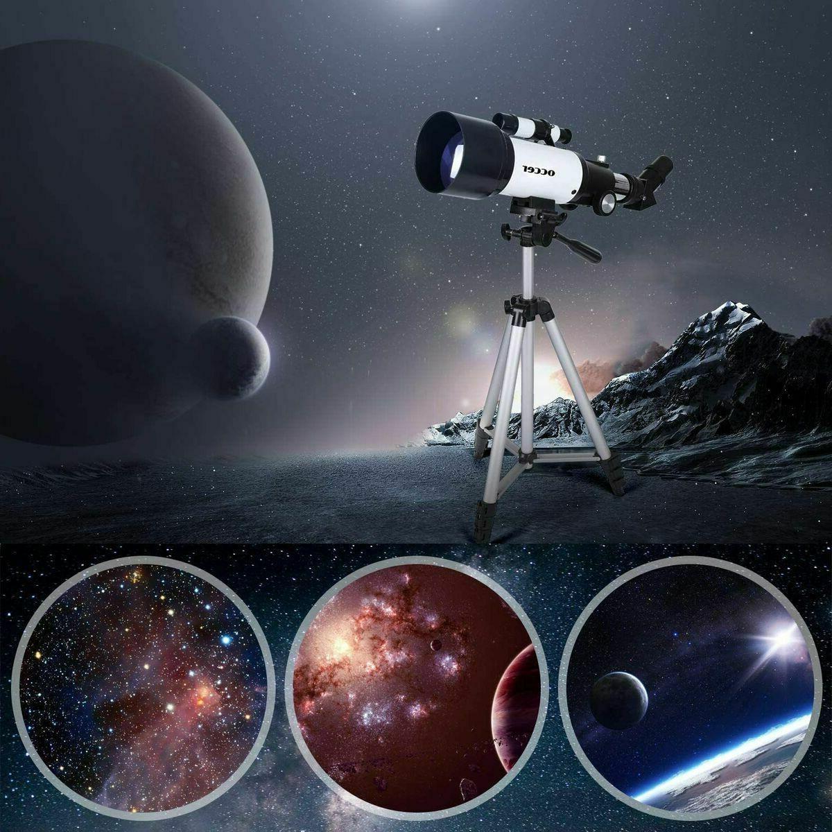 Occer Telescopes Kids Astronomy Beginners - 70mm
