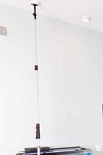 6-24 Foot Retractable Extension by Miloo   Cleaning, Paint Roller Duster Pole, Gutter Light Bulb Changing