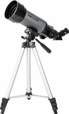 Celestron - Travel Scope 70mm Refractor Telescope - Gray/Bla