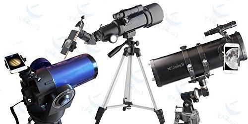 Gosky Adapter Mount with Binocular Monocular Scope Telescope Microscope-for Sony Samsung