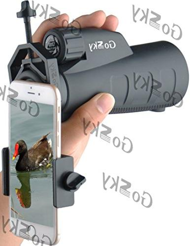 Gosky Adapter with Monocular Spotting Scope Phone Sony
