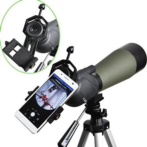 Gosky Cell Phone Adapter Compatible with Binocular Scope Sony Samsung Etc