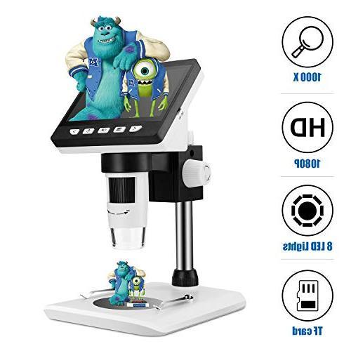 wireless portable usb microscope