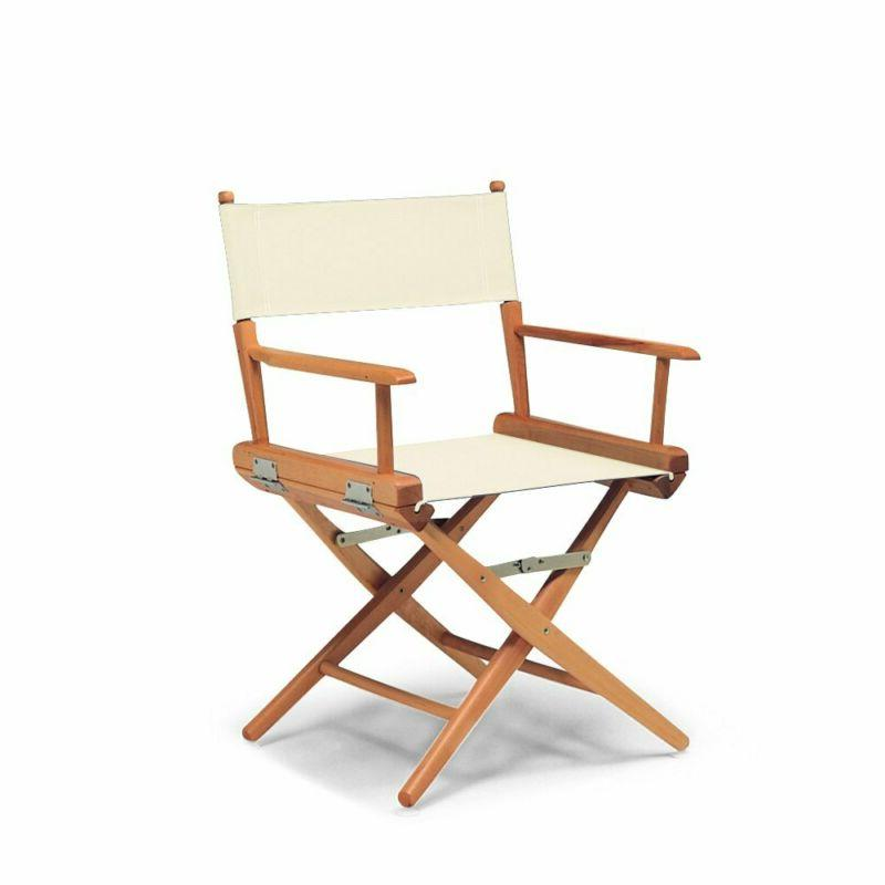 world famous dining height director chair natural