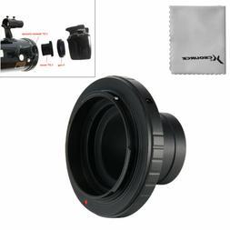 Lens Adapter T-Ring for Nikon DSLR Camera + 1.25in /31.7mm T