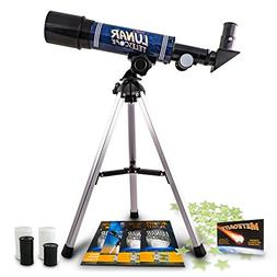 Discover with Dr. Cool LUNARSCOPE3 Lunar Telescope for Kids