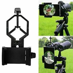 Mobile Phone Camera Adapter Spotting Telescope Microscope