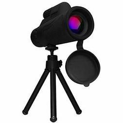 Monocular telescope 40X60 High Power Prism and Smartphone Ip