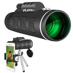 KIPRUN Monocular Telescope,40x60 High Powered Monocular Scop