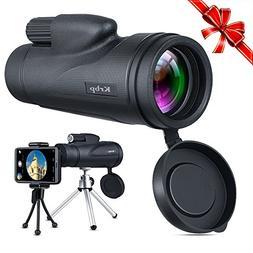 Monocular Telescope, Low Light Night Vision Monocular Telesc