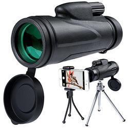 12X50 Monocular Telescope High Powered Waterproof Portable C