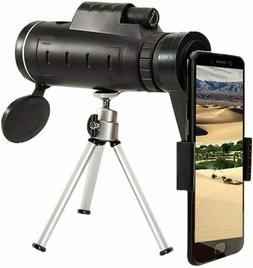 Monocular Telescopes with Low Night Vision, 40x60 High Power