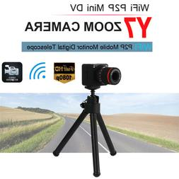 Motion DV HD 50X Zoom Telescope Webcam Wireless Camcorder Y7