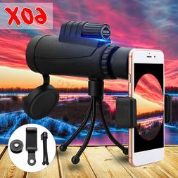 New 40x60 Zoom Monocular HD Telescope Telephoto Camera Lens+