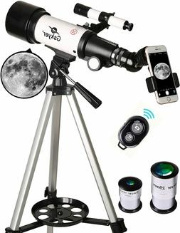 70mm Aperture 400mm AZ Mount Astronomical Refracting Telesco