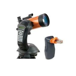 Celestron NexStar 4 SE Computerized Telescope Bundle with Sk