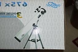 NIB ORBITOR 675X DIGITAL REFLECTOR TELESCOPE w/ TV and ACCES