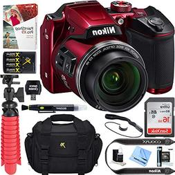 Nikon COOLPIX B500 16MP 40x Optical Zoom Digital Camera w/ W