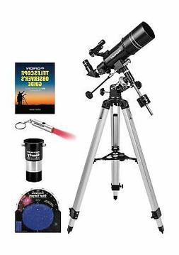 observer 80st equatorial refractor telescope