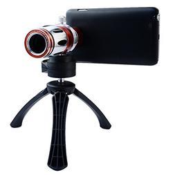 Apexel 17x Optical Zoom Aluminum Telephoto Telescope Phone C
