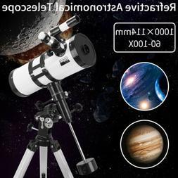 outdoor astronomical telescope professional refractive astro