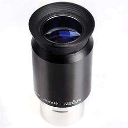 """1.25"""" 40mm Plossl Telescope Eyepiece with Filter Thread and"""