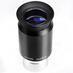 """1.25"""" 40mm Plossl Telescope Eyepiece - 4-Element Plossl Desi"""