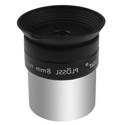 """Alstar 1.25"""" 8mm Plossl Telescope Eyepiece - 4-element Ploss"""