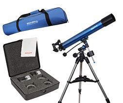 Meade Polaris 80mm German Equatorial Telescope w/ Travel Bag