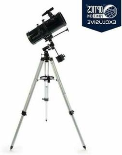 powerseeker 127eq telescope w smartphone adapter black
