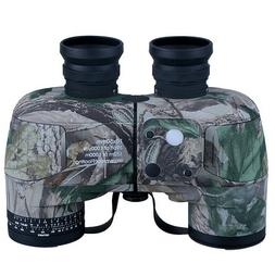 Professional 10x50 Binocular with Compass Low Night Vision W