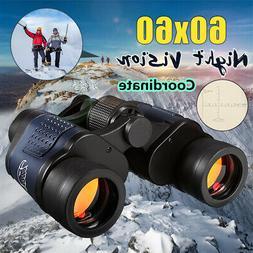 Professional HD 60x60 Army Optics Zoom Binoculars Day/Night