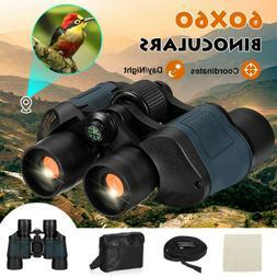 Professional HD 60x60 Military Army Optics Zoom Binoculars D