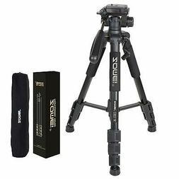 """ZOMEI Q111 55"""" Al-Alloy Tripod for DSLR Canon Nikon Sony DV"""