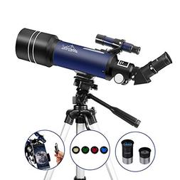 MAXLAPTER Refractor Astronomy Telescope for Adults Kids Begi