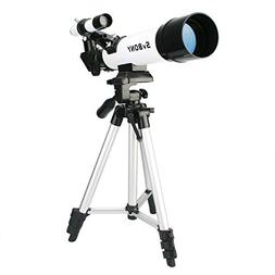 SVBONY 60mm Astronomy Telescope for Beginners and Kids Refra